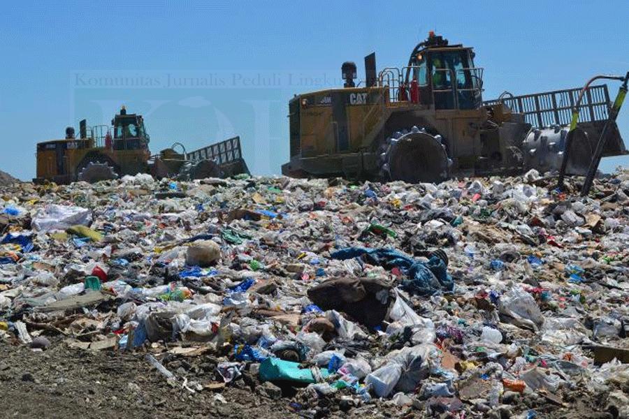Lokasi Pembuangan Sampah Di Bantar Gebang Dialihkan